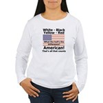 Proud American Women's Long Sleeve T-Shirt