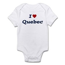 I HEART QUEBEC Infant Bodysuit
