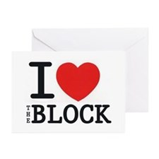 Funny Blockhead Greeting Cards (Pk of 20)