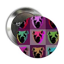 "English Bulldog 2.25"" Button (10 pack)"