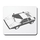 Countach Funk Mousepad