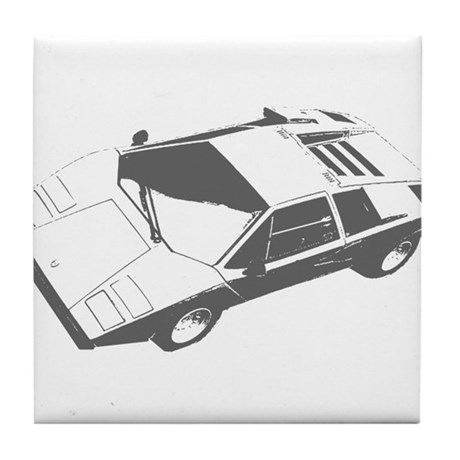Countach Funk Tile Coaster