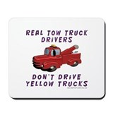 Red Tow Truck Gifts Mousepad