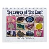 ...Treasures Of The Earth... Wall Calendar
