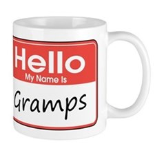 Hello, My name is Gramps Mug
