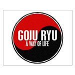 GOJU RYU A Way Of Life Yin Yang Small Poster