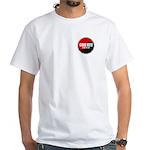 GOJU RYU A Way Of Life Yin Yang White T-Shirt