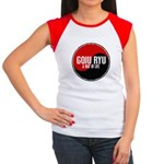 GOJU RYU A Way Of Life Yin Yang Women's Cap Sleeve