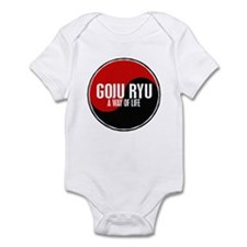 GOJU RYU A Way Of Life Yin Yang Infant Bodysuit