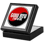 GOJU RYU A Way Of Life Yin Yang Keepsake Box