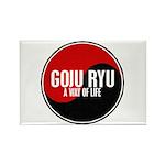 GOJU RYU A Way Of Life Yin Yang Rectangle Magnet (