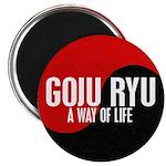 GOJU RYU A Way Of Life Yin Yang Magnet