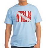 Divers do it deeper Ash Grey T-Shirt