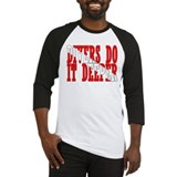 Divers do it deeper Baseball Jersey