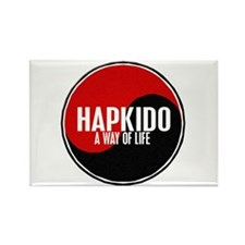 HAPKIDO A Way Of Life Yin Yang Rectangle Magnet (1