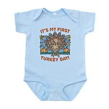 IT'S MY FIRST TURKEY DAY! Infant Bodysuit