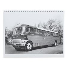 Unique Bus Wall Calendar