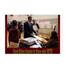 Funny Obama biden 2008 Postcards (Package of 8)