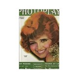 Clara Bow Winks 1931 Rectangle Magnet