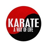 KARATE A Way Of Life Yin Yang 3.5