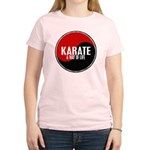 KARATE A Way Of Life Yin Yang Women's Light T-Shir