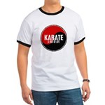 KARATE A Way Of Life Yin Yang Ringer T