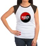 KARATE A Way Of Life Yin Yang Women's Cap Sleeve T