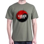 KARATE A Way Of Life Yin Yang Dark T-Shirt