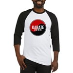 KARATE A Way Of Life Yin Yang Baseball Jersey