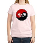 KEMPO A Way Of Life Yin Yang Women's Light T-Shirt