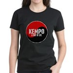 KEMPO A Way Of Life Yin Yang Women's Dark T-Shirt