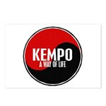 KEMPO A Way Of Life Yin Yang Postcards (Package of