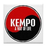 KEMPO A Way Of Life Yin Yang Tile Coaster