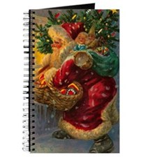 Christmas Santa Claus Journal Blank Notebook