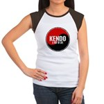 KENDO A Way Of Life Yin Yang Women's Cap Sleeve T-
