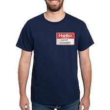 Hello, My name is Great Grandpa T-Shirt