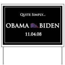 oddFrogg OBAMA BIDEN Yard Sign