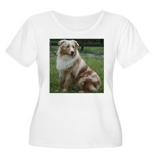 Red Merle Aussie T-Shirt