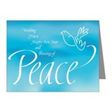 Peace in the New Year Note Cards (Pk of 10)