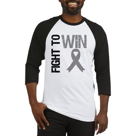 FightToWin Brain Cancer Baseball Jersey