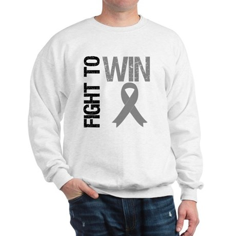 FightToWin Brain Cancer Sweatshirt