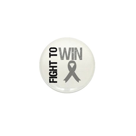 FightToWin Brain Cancer Mini Button