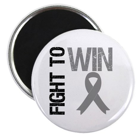 "FightToWin Brain Cancer 2.25"" Magnet (10 pack)"