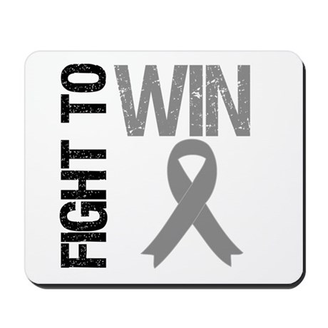 FightToWin Brain Cancer Mousepad