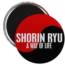 "SHORIN RYU Way Of Life Yin Yang 2.25"" Magnet (10 p"