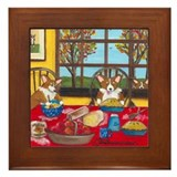 Apple Pie Framed Tile