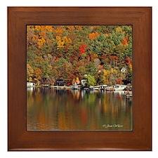 Lakeside Reflections Framed Tile