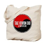 TAE KWON DO Way Of Life Yin Yang Tote Bag