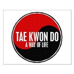 TAE KWON DO Way Of Life Yin Yang Small Poster