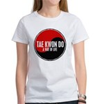 TAE KWON DO Way Of Life Yin Yang Women's T-Shirt